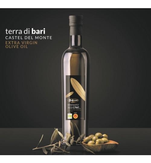 Natürlich Biologisch <br>BIO DOP Olivenöl extra nativ Terra di Bari Castel del Monte