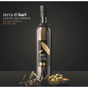 Natürlich Biologisch BIO DOP Olivenöl extra nativ Terra di Bari Castel del Monte