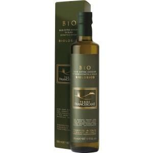 Bio Olivenöl extra vergine TERRE FRANCESCANE 500ml im Geschenkkarton